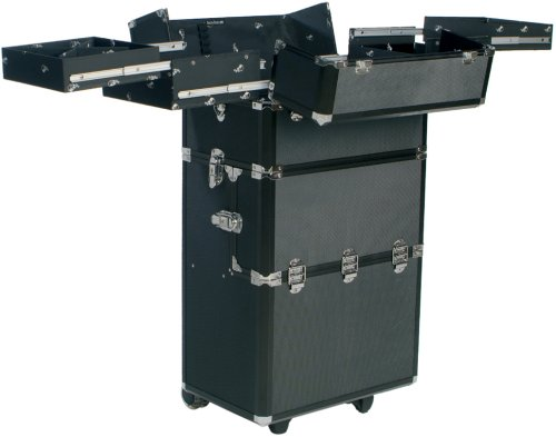 Beauty-Boxes Monaco Black Cosmetics and Make-up Trolley