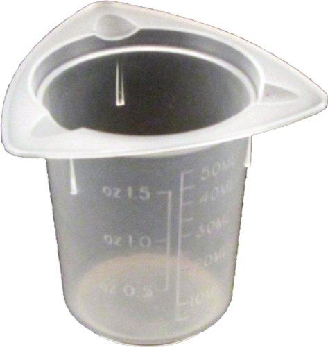 5 X 50Ml Tri-Pour Polypropylene Tri-Pour Beaker No Spill Pour Design