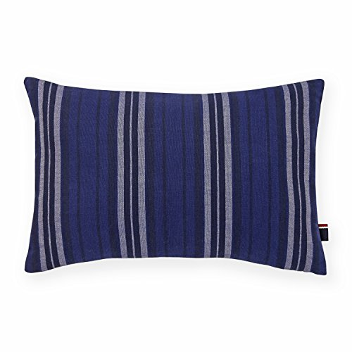 Tommy Hilfiger Stripe Denim Decorative Pillow front-1014534