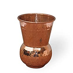 Dungri India Copper Glass Ayurveda Healing Drinkware Copper Tumbler