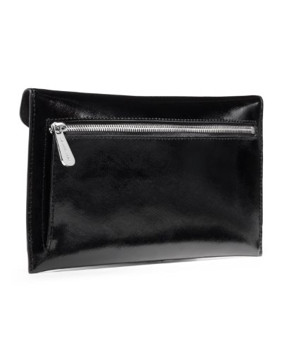 MICHAEL Michael Kors Michael Kors Large Jeweled Jet Set Travel Envelope Clutch Black