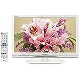 シャープ 19V型 ハイビジョン 液晶テレビ ホワイト AQUOS LC-19K20-W