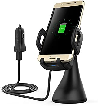 Dodocool Car Mount Qi Wireless Charger