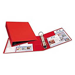 Heavy-Duty Vinyl EZD Ring Reference Binder