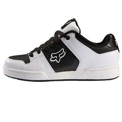 fox racing quadrant shoe white 8 5