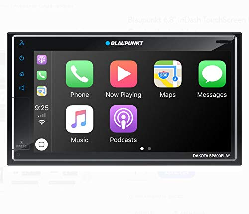 Blaupunkt Dakota BP800 Play 6.8 InDash Touchscreen Receiver Compatible with Carpaly