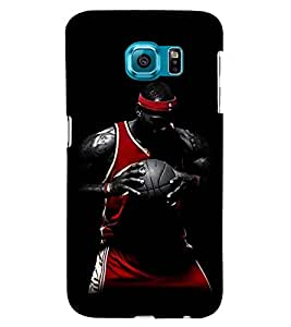 Printvisa Basketball Player In Action Back Case Cover for Samsung Galaxy Note 5 Edge::Samsung Galaxy Note 5 Edge 2