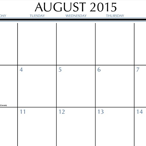 Mead Monthly Desk Pad Calendar Upper Class Academic Year