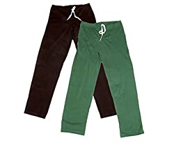 Indistar Women Super Combo Pack 4 (Pack of 2 Lower/Track Pant and 2 T-Shirt)_Brown::Brown::Green::Purple::White_L