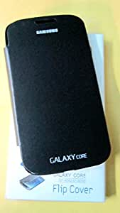 REBOOT FLIP COVERS CASE FOR SAMSUNG GALAXY CORE (GT-I8262/GT-I8260) BLACK