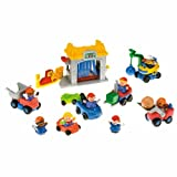 FISHER PRICE LITTLE PEOPLE CAR WASH GIFT SET