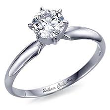 buy Gia Certified, Amazing Platinum 1.00 Ct Cert D Vs1 Diamond Engagement Ring Solitaire 00135048