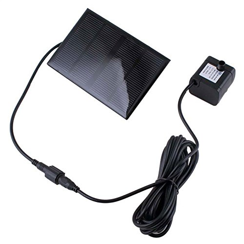 Solar Panel Outdoor Garden Power Submersible Fountain Pond Water Pump