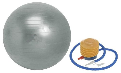 Gym Ball Swiss Ball Exercise Ball 75cm FREE Pump and Instruction Guide. Anti-Burst