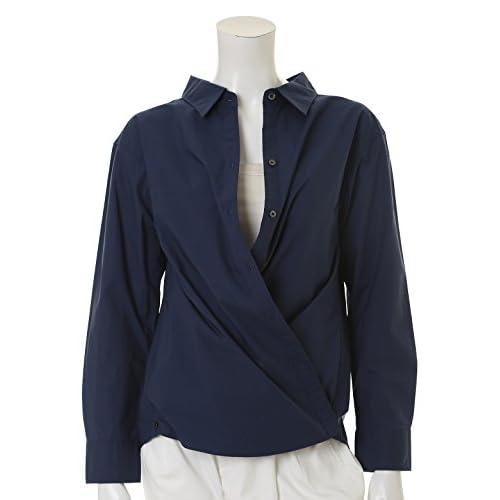 (ルスーク)LE SOUK カシュ―クール2WAYシャツ ブルー 05