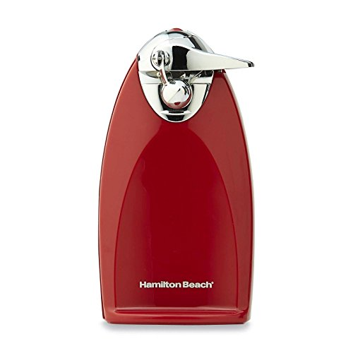 NEW Hamilton Beach Brands Inc. Ensemble Can Opener - Red / Electric Can Openers (Mickey Mouse Musical Toaster compare prices)