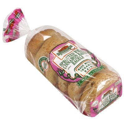 Alvarado Street Bakery Organic Sprouted Wheat Cinnamon Raisin Bagel, 20 Ounce -- 6 per case. by Alvarado Street Bakery (Alvarado St Bakery compare prices)