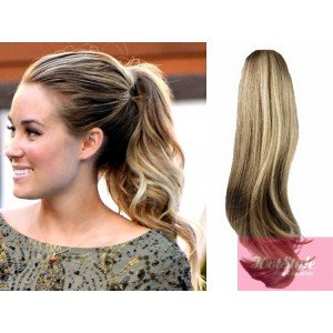 Amazon com : HOTstyle Clip in ponytail wrap / braid hair