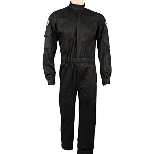 CosplaySky Star Wars Costume Imperial Tie Fighter Pilot Flightsuit Jumpsuit X-Small (Imperial Flight Suit compare prices)