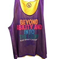 Pinnie Beyond Ability Purple/Gold Reversible PINNY Adult size L/XL