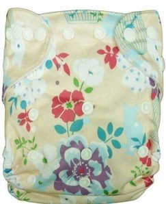 Besto Baby One Size Fit All Pocket Cloth Diaper Cover Reusable Washable Fit 6-33 Lbs 0N38 back-1019992