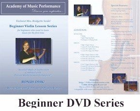 Violin Lessons - AMP - Beginner Violin Lessons on DVD with Music Book Written for a Learning Violinist and Fingering Charts, 100% Satisfaction Guarantee 152