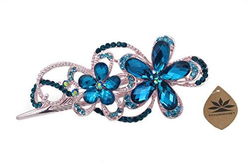 totoroforet-geminate-flower-vintage-retro-style-bronze-rhinestone-hair-clip-claw-barrette-large-size