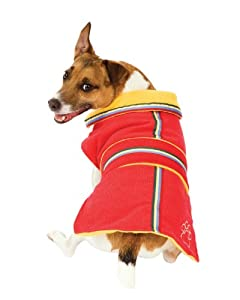 Fashion Pet Chelsea Corduroy Dog Coat, Red, Small