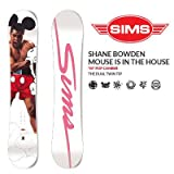 SIMS シムス スノーボード SHANE BOWDEN MOUSE IS IN THE HOUSE 153cm 16-17モデル