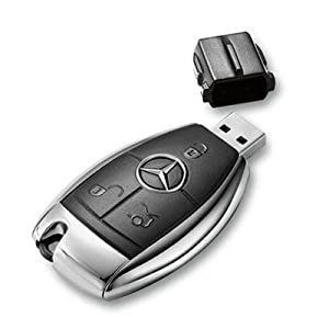 Euroge tech 8gb usb flash drive memory stick mercedes benz for Mercedes benz flash drive with box