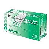 Safe-Touch Medium Powder Free Vinyl Examination Gloves -100-Piece
