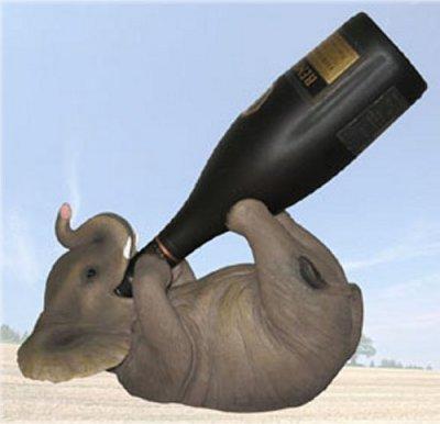 Discount cheap to tabletop wine racks sale bestsellers - Elephant wine bottle holder ...