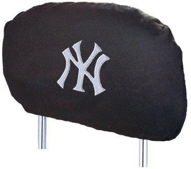 new york yankees head rest covers yankees head rest covers yankee head rest covers. Black Bedroom Furniture Sets. Home Design Ideas