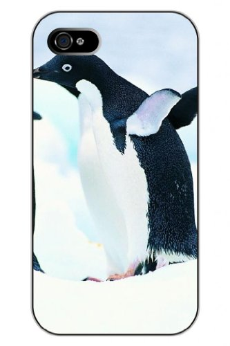 Sprawl Unique Creative Design Cute Animal Snap On Protective Iphone 5 Case -- Penguins Fly front-996971