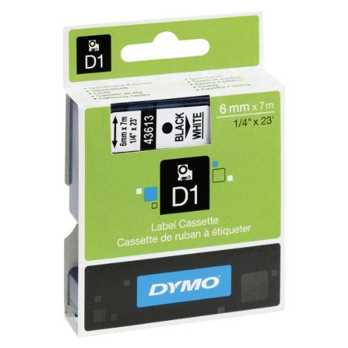 dymo-s0720780-nastri-d1-6-mm-x-7-m-nero-bianco