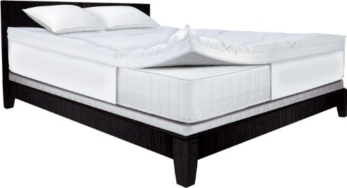 Save over 20% on Serta 4-Inch Dual Layer Mattress Toppers