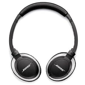 Bose(ボーズ) / OE2i audio headphones (Black) - Apple製品専用マイク付きリモコン搭載 - 【直輸入品】