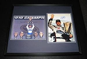 Jimmie Johnson Signed Photograph - Framed 16x20 Set 2010 Champion - Autographed... by Sports Memorabilia