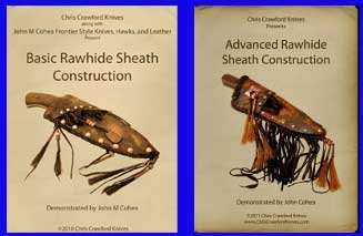 Rawhide Sheath Construction Set: Basic Rawhide Sheath Construction & Advanced Rawhide Sheath Construction (2 Dvds, 6 Hours)
