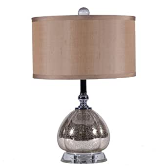 small mercury glass clove table lamp small accent lamp. Black Bedroom Furniture Sets. Home Design Ideas