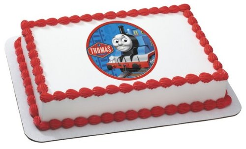 Thomas The Train Personalized Edible Image Cake Topper
