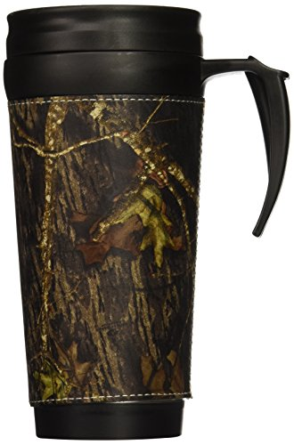 Weber Camo Leather Travel Mug BU