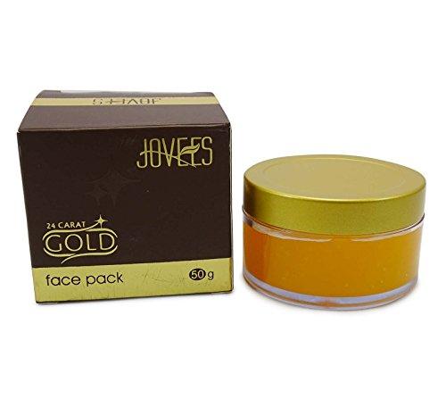 Jovees or 24 carats Face Pack Pour Lisser la peau rides & Soft Glow Skin - 50g