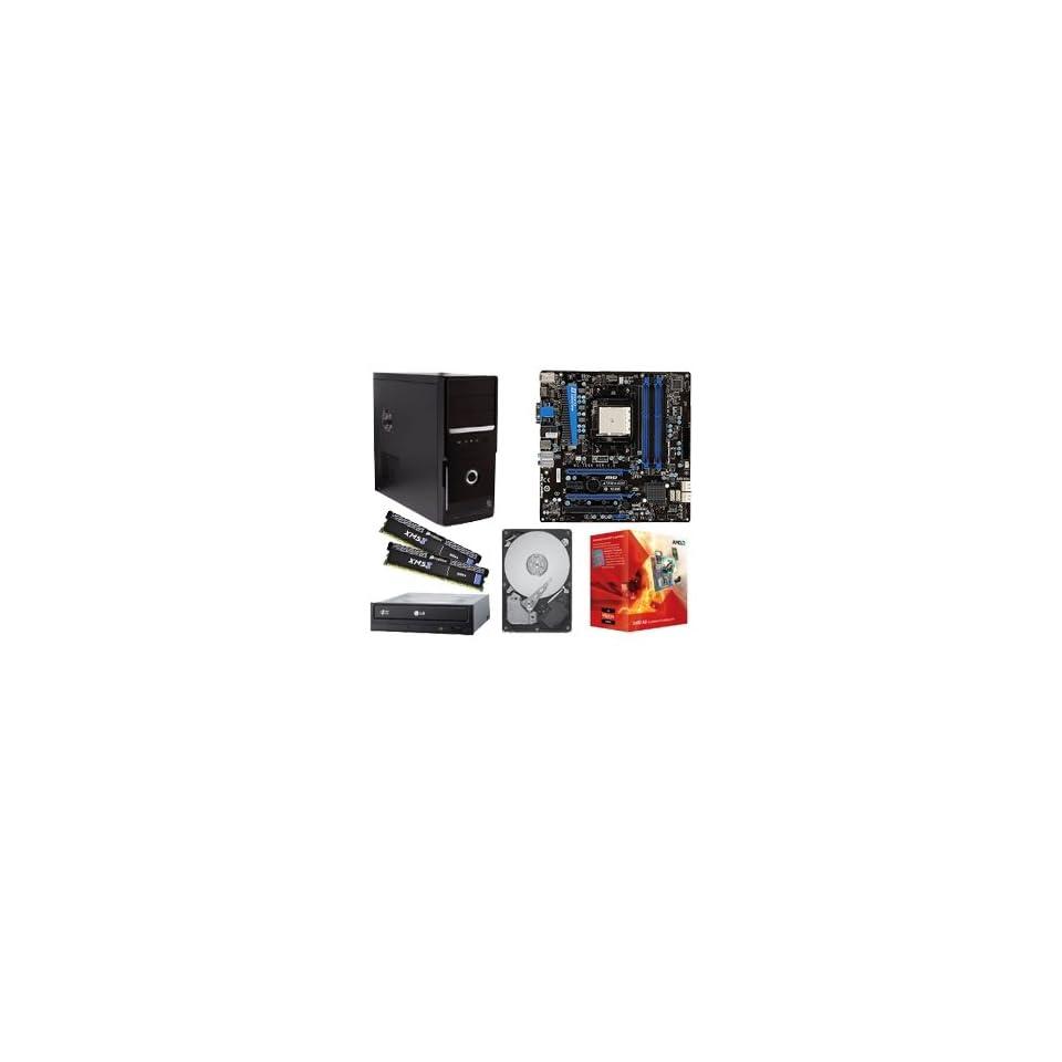 MSI A75MA G55 AMD A Series Barebones Kit