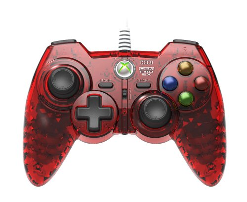 HORI Xbox 360 GEM PAD EX - Ruby Red