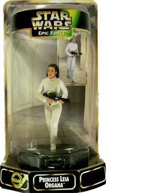 Buy Low Price Kenner Star Wars – Princess Leia Organa – Epic Force – Rotate Figure 360 – Kenner – Collectible (B000BC80RM)