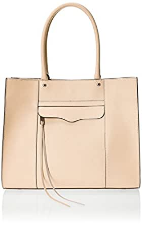 Rebecca Minkoff Medium Mab Tote Shoulder Bag, Biscuit, One Size