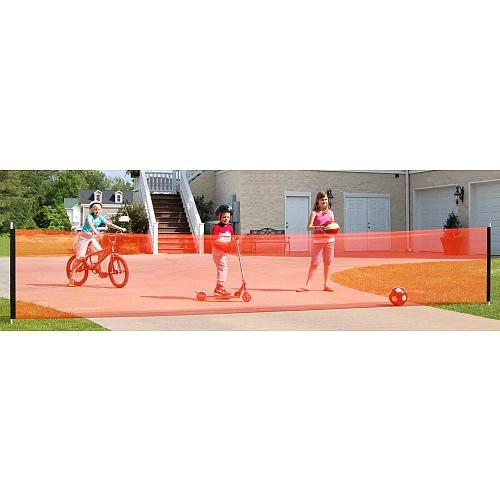 Kidkusion Driveway Safety Net - 30 Feet front-631055