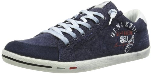 Lotto Mens WAYNE VI SCRIPT Trainers Blue Blau (AVIATOR) Size: 42.5