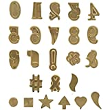Walnut Hollow Hotstamps Number And Symbol Set 24 Piece